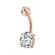 Brass Piercing JewelryAJEW-EE0006-80RG-6