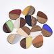 Colgantes de resina y madera de nogalRESI-S358-95-1